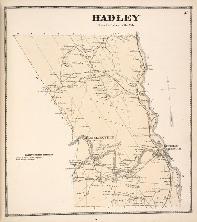 Hadley [Township]; Hadley Business Directory.