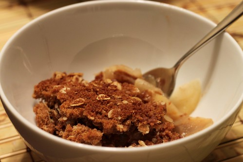 apple and pear crisp | by Stacy Spensley