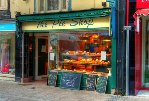 The Pie Shop   by Mike Cattell