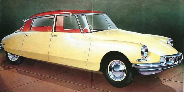 Citroën DS19 (Slough-built, late 1950s/early 1960s)