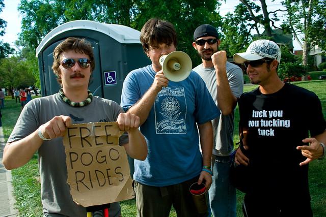 Free Pogo Rides - ComFest 2009