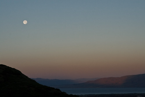 sunset sky usa moon silhouette sunrise ut provo