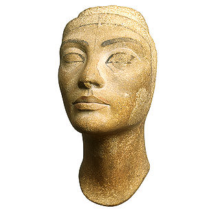 Unfinished Head of Nefertiti | by An Egyptian Craftsman
