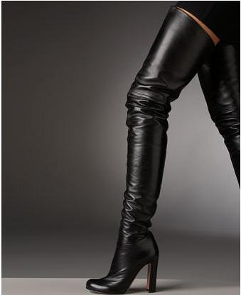 pretty nice picked up los angeles Prada OTK Boots | Over the Knee Boots - Prada $1,400 Neiman ...