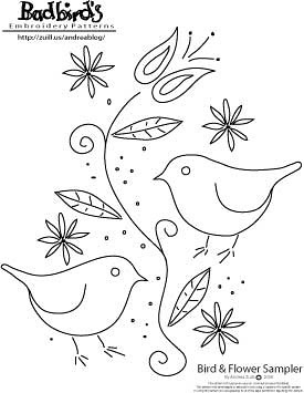 Desenho Passarinhos Mamacita32 Flickr