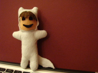 Finished Felt Max (from Where the wild things are) | by lilspikey