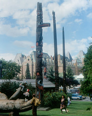 Victoria - Totem Poles   by roger4336