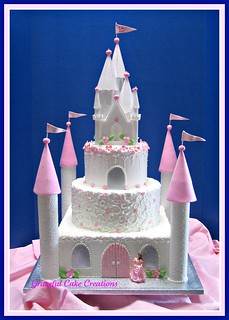 Castle Birthday Cake | by Graceful Cake Creations