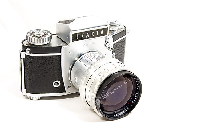 Exakta Varex IIB Carl Zeiss Jena Biotar 75mm f1.5