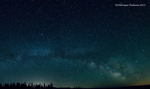 Milky Way, California, US