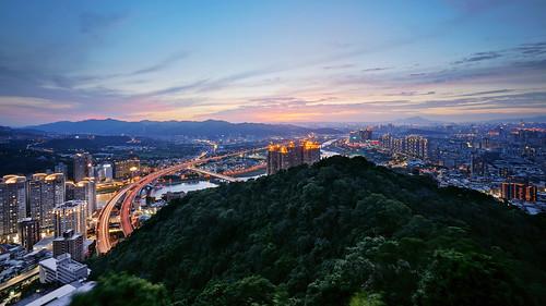 sunset sky night landscape cityscape sony taiwan taipei nex6 sel1018