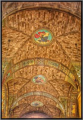 Lincoln Nebraska  ~ State Capitol Interior Rotunda ~  Mosaic  Murals