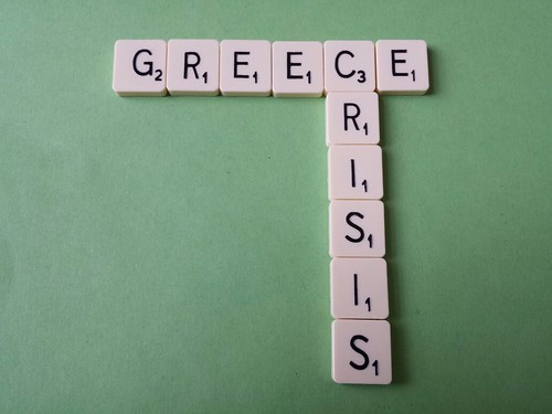 Greece Crisis Scrabble | by jeffdjevdet