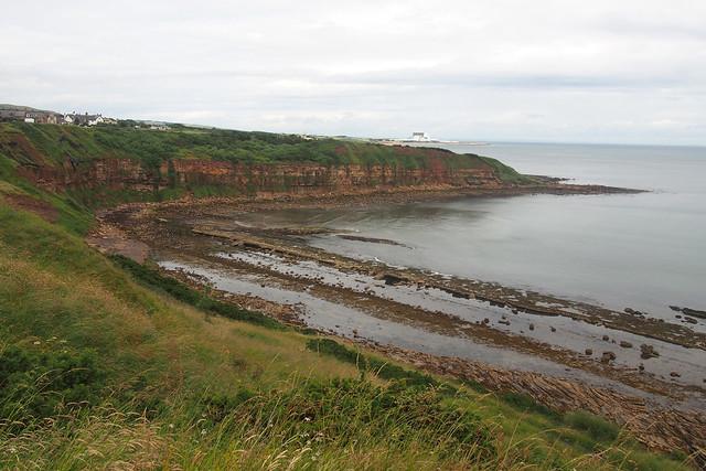 The coast at Cove
