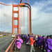 Golden Gate Bridge Protest