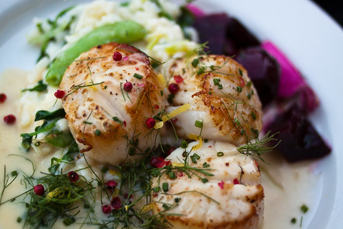 Scallops at Lucia's | by KeriFlur