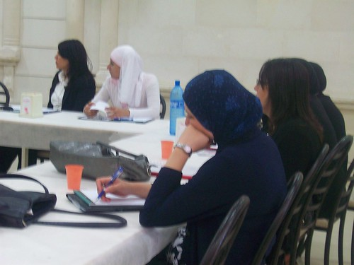 Participants in the women's training on labor and union rights | by The Advocacy Project