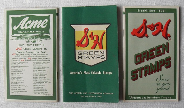 S & H GREEN STAMPS BOOKLET COVERS