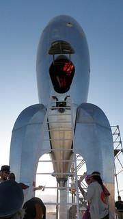Rocket Ship - Burning Man 2009