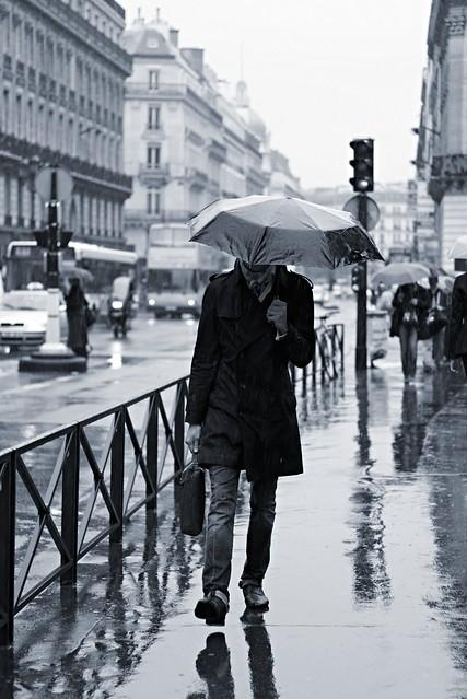 Rainy anonymity