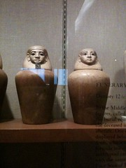 Canopic jars   by Corrinne