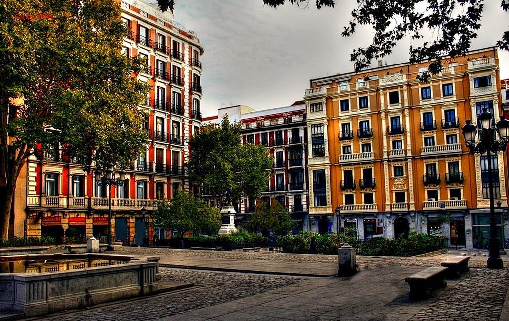 Plaza Del Rey Madrid Madrid Bien Visto Mis Fotos De La Ciudad Flickr