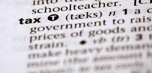 Tax by definition | by Alan Cleaver