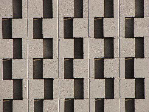 brick wall block firehall midcenturymodern concreteblock perforatedbrick