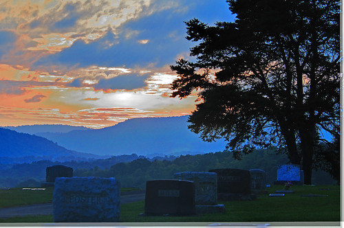 sunset west cemetery virginia beyondthesunset aldersonwv aldersoncemetery
