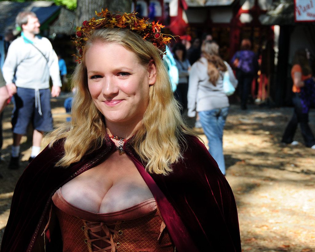 Ig boobs renaissance fair