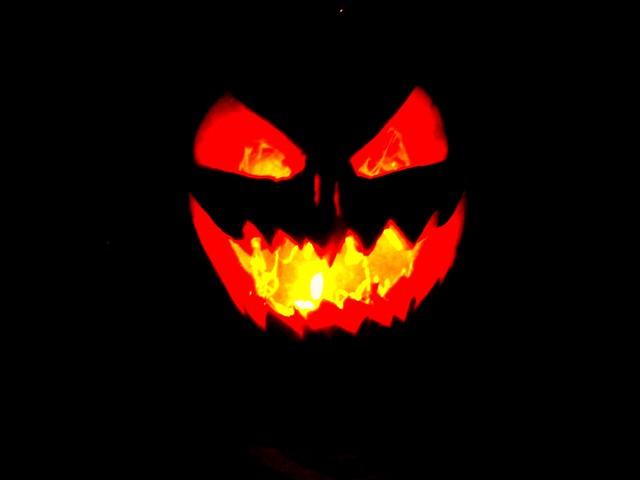 Image result for evil jack o lantern