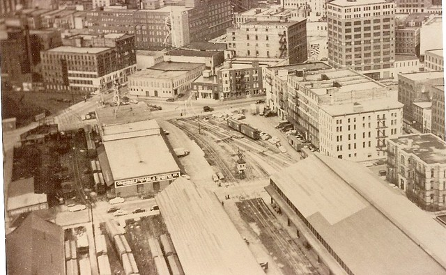 Union Depot Train Shed Aerial