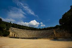 Epidaurus ancient theater | by Vicky Tsavdaridou