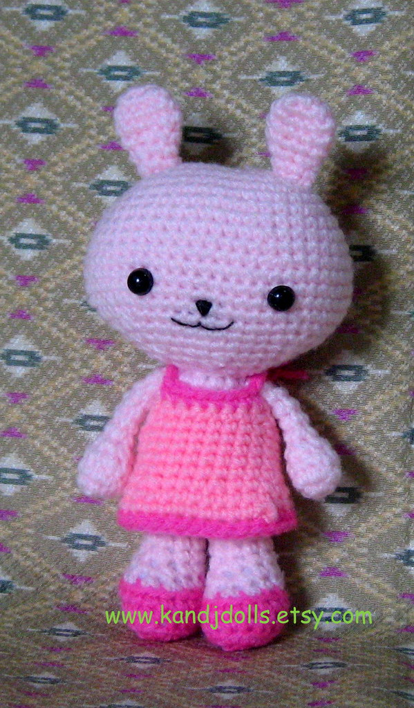 219 Crochet Pattern - Easter Bunny Rabbit - Amigurumi PDF file by ...   1024x599