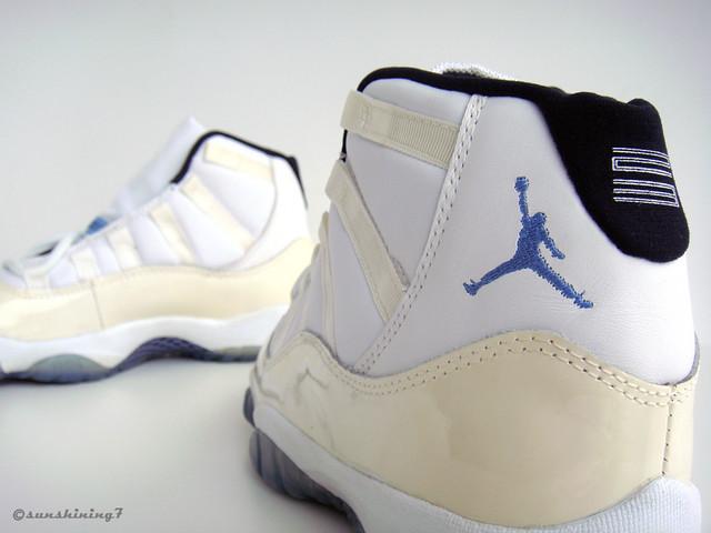 01d5d9f3ceba ... Sunshining7 - Nike air Jordan XI (11) - 1995 - White Columbia