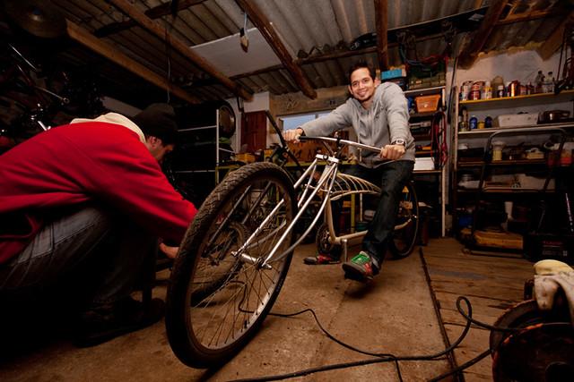 ... Homemade Chopper Bicycle by Almádi | by Enzor