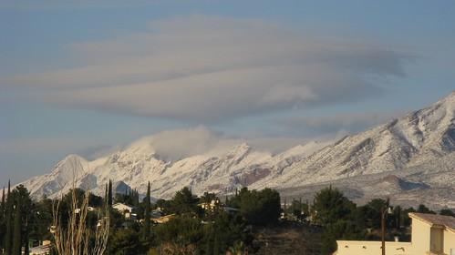 franklins franklinmountains elpaso texas elpasotexas anthonysnose mountains desert snow winter canon powershot a720is flickrwrherndon landscape