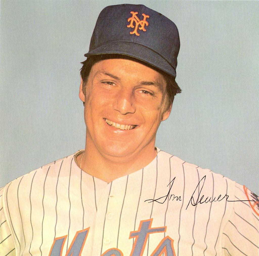 Tom Seaver - Member of the 1969 New York Mets World Series