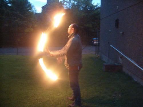 Antonio Juggling Fire