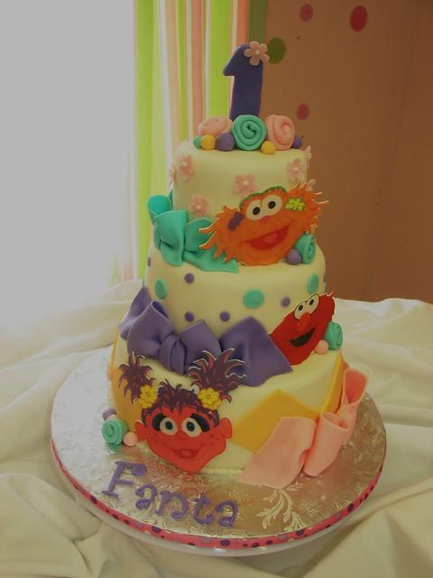 Fanta's Sesame Street Cake