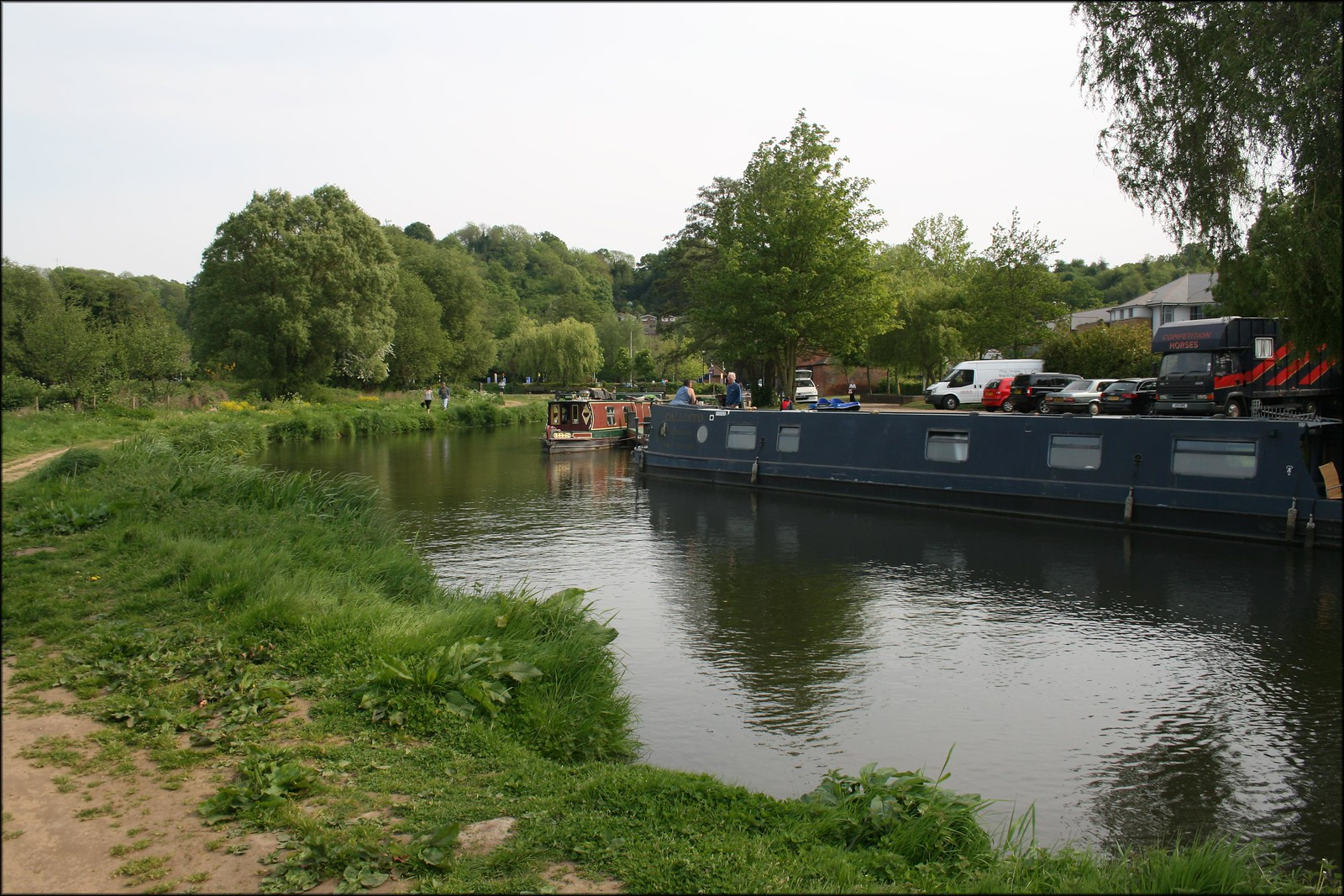 The River Wey at Godalming