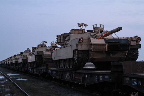 Armor arrives in Romania | by U.S. Army Europe