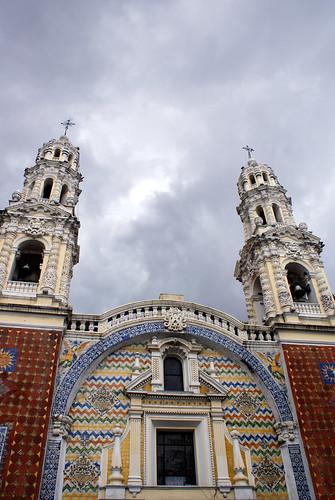 Interior de la Iglsesia en Grajales - Puebla