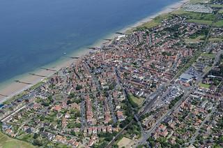 Hi Definition Aerial Image Of Sheringham In Norfolk Flickr