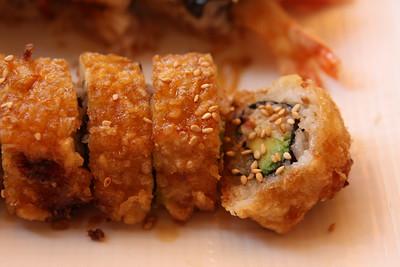 deep fried california roll