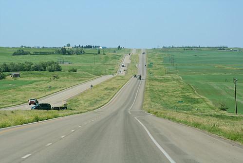 road scenery northdakota williston throughthewindshield