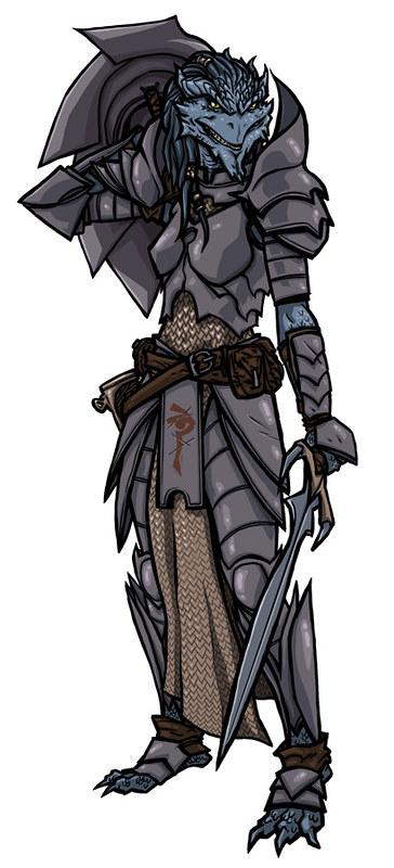 Dragonborn Paladin - Shakal Blog