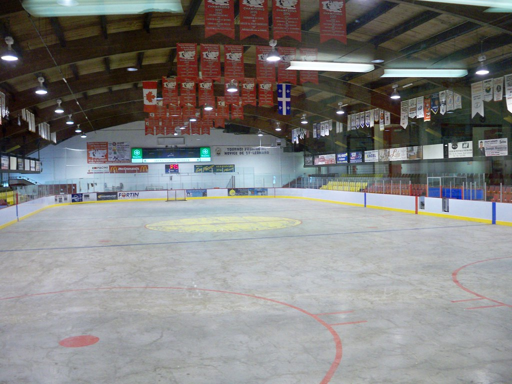 Rink At Arena Martin Brodeur Chiarraigrrl Flickr