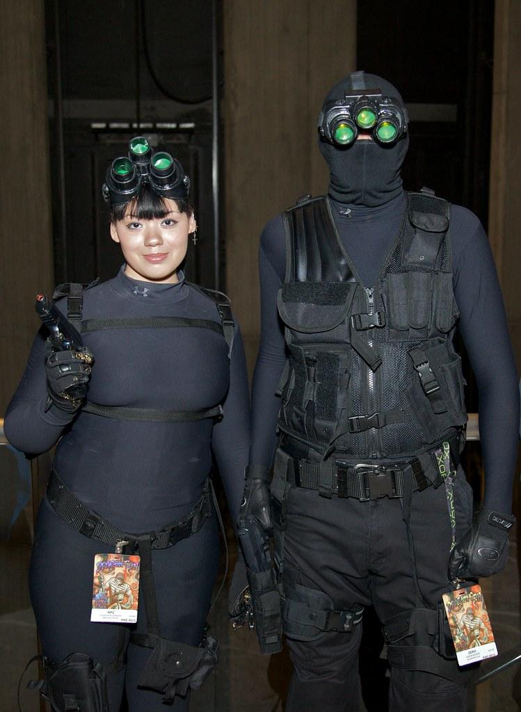 Splinter Cell Costumes From Dragoncon 2009 Bob Snyder Flickr
