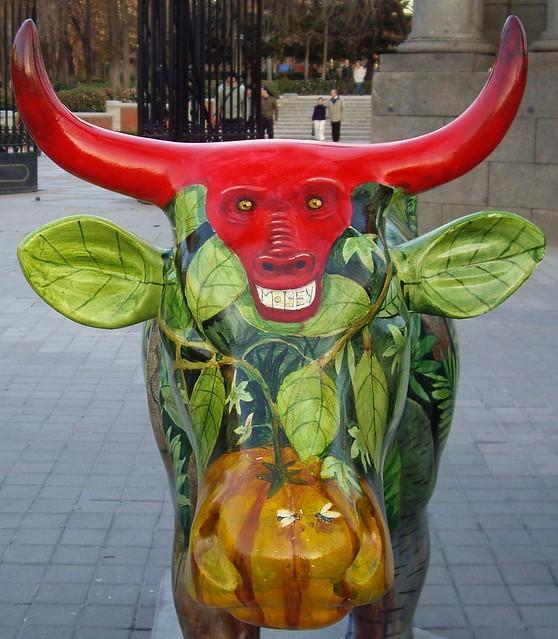 MADRID COW PARADE